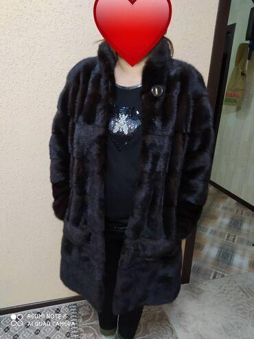 Личные вещи - Бактуу-Долоноту: Продаётся Российская норковая шуба Махагон Шуба трансформерРазмер