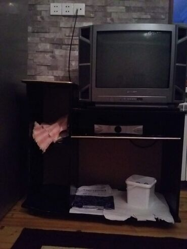 krosna aparati - Azərbaycan: Televizor stend krosna aparatı üçü bir yerdə