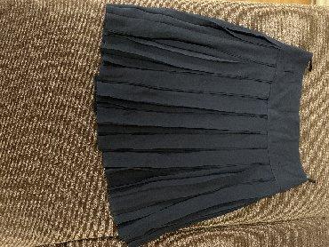 синяя юбка в Кыргызстан: Продаётся юбка! Гофре! Размер:46! Цвет:яремно синий! Подходит для школ
