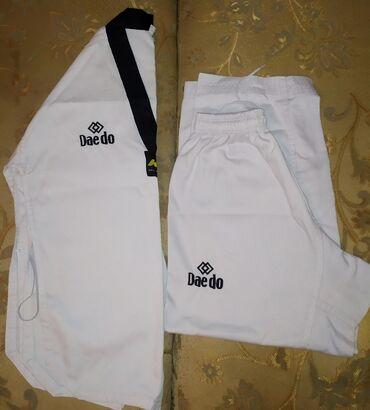 Продам кимоно для таэквондоСостояние отличное!!!Торг уместенРост 160
