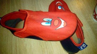 Dečija odeća i obuća - Loznica: Patofne fb bez ostecenja kao nove malo nosene odgovara za decaka i