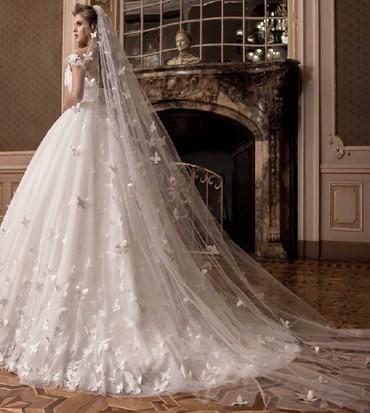 свадебные платья бу в Кыргызстан: Свадебное платье в прокат 8000или на продажу 13000.размер