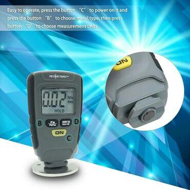 купить geforce gtx 660 в Кыргызстан: Цифровой толщиномер Richmeters RM-660+Бесплатная доставка по