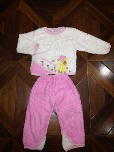 Костюм травка мягкий-теплый на девочку 1,5-2 года цена 250 в Бишкек