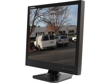 Monitor Ac100-16 duyum hdm vga tulpan ciisi vardi qara rengdedi islenm