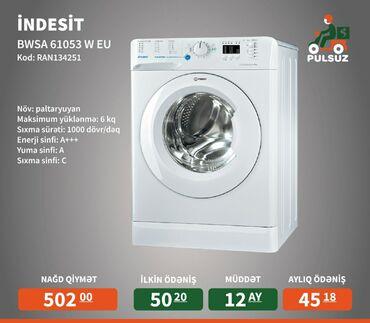 Öndən Washing Machine Indesit 6 kq