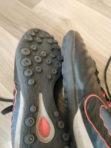 футбольные бутсы бишкек in Кыргызстан | КРОССОВКИ И СПОРТИВНАЯ ОБУВЬ: Футбольные бутсы Nike окрас чёрный 39 размер Состояние:хорошее играл