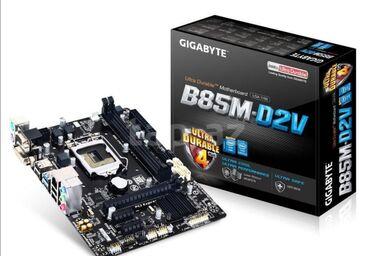 Ana platalar - Azərbaycan: Ana plata Gigabyte GA-B85M -D2 H81Ports: PCI-Express X16Ports