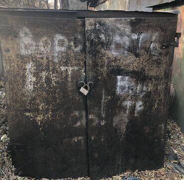 Гаражи - Кыргызстан: Гараж металл мощн толстый прочн тяжел для мотоц моторолл мопед демонта
