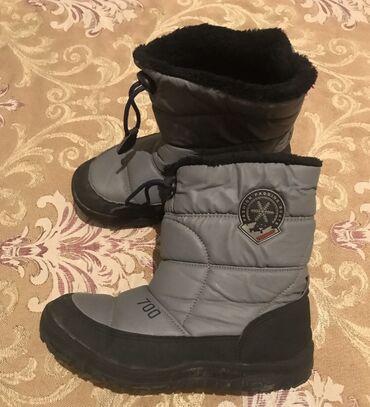Зимние корейские сапоги 22 размер тёплые непромокаемые  Примерно на 7-