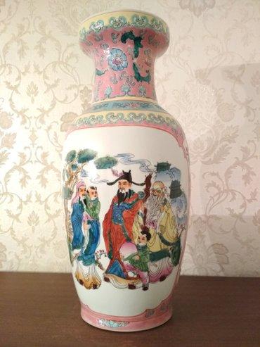 Новая Китайская ваза. Высота около 40 см в Бишкек