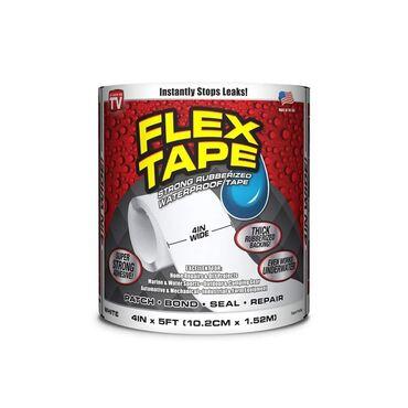 FLEX TAPE 10 x 150 cm BELA - Super jaka vodootporna izolir traka za