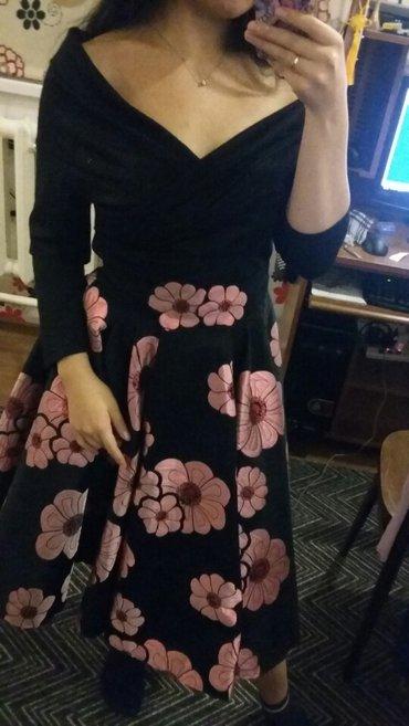 Красивое платье. Размер 46. Одевала  один раз. в Бишкек