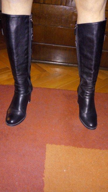 Cizme kozne,italijanske,malo nosene posto su male. Br 36 placene - Belgrade