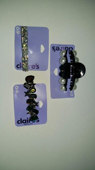 Claire's šnale za kosu (novo),americki nakit za mlade,bižuterija koja