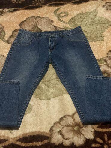 чёрные зауженные джинсы мужские в Кыргызстан: Джинсы мужские, в идеальном состоянии, размер 54, на рост 1.90