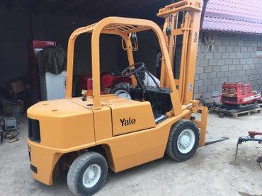 Вилочный погрузчик Yale. Грузпододьемность 2500 кг, бензиновый в Бишкек - фото 2