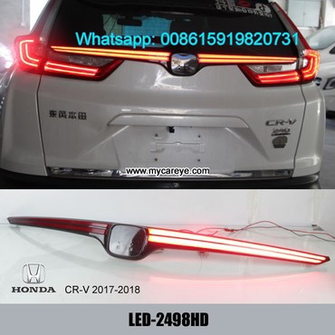 Honda CRV 2017 2018 Rear Bumper LED Brake Taillight Parking Warning in Tīkapur