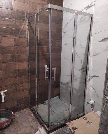 Duş kabin ara bölmə ara kəsmə sifarişlə hazırlanır