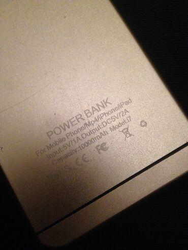 аккумулятор гелевий в Азербайджан: Повер банк от айфона.зарядку держит отлично(10000)