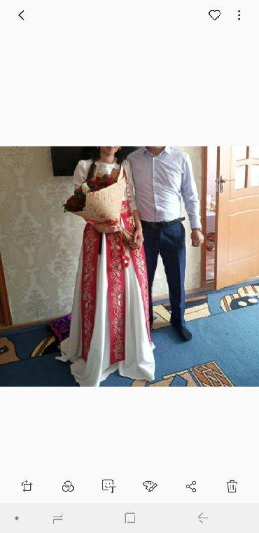 вечернее платье ручной работы в Кыргызстан: Платье в национальном стиле ручная работа одевалас один раз на кыз уза