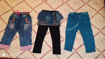 Детские штанишки на девочку. Возраст 1-2годика. Все в идеальном