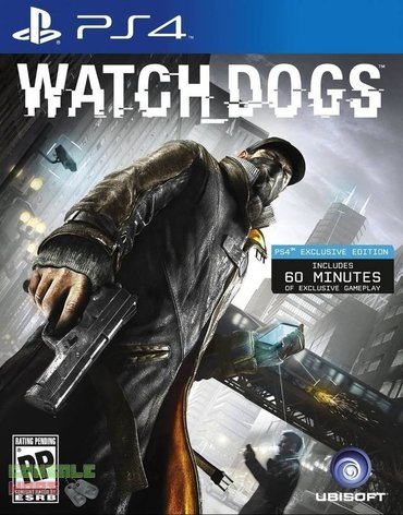 Игра Watch Dogs на PS4 Б/У в Кант