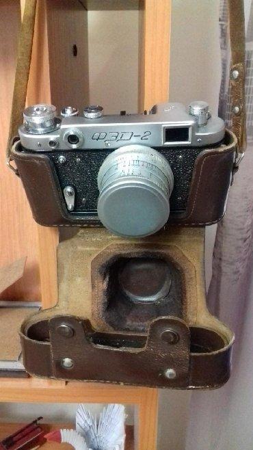 Фото и видеокамеры - Кыргызстан: ПРОДАЮ фотоаппарат ФЭД 2 РАРИТЕТ