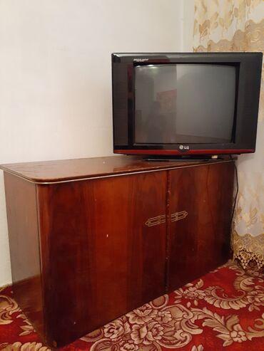 lg v10 в Кыргызстан: Продаю телевизор и тумбочку. Не дорого под самовывоз