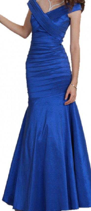 синее вечернее платье в Кыргызстан: Продаю вечернее платье, по 2000 сомсинее платье размер XS- S на