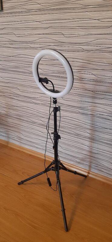 Освещение в Кыргызстан: Продам шикарную селфи лампу для дома и салонов красоты, диаметр 33см