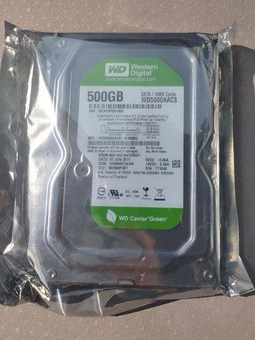sert-disk - Azərbaycan: Kompyuter ucun 3.5mm sert disk wd green500 gbTezedilerSay