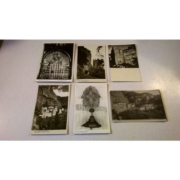 6 Καρτ Ποστάλ - Μέγα Σπήλαιον - Μονή Μεγάλου Σπηλαίου- Σήραγγες