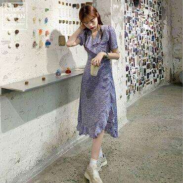 В наличии платье миди с разрезом♡ без предоплат %бесплатная доставка