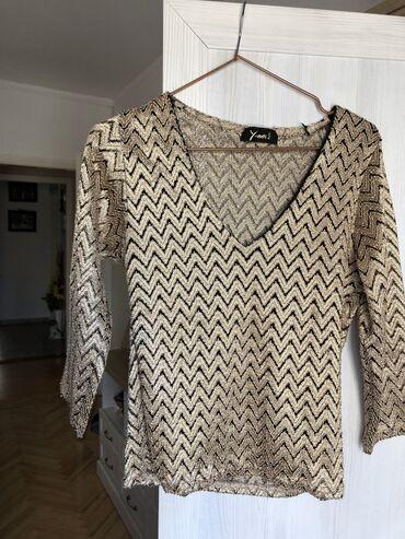 Rad u nemackoj - Srbija: NOVA PREDIVNA zenska bluza, M velicina. Kupljena je u Nemackoj