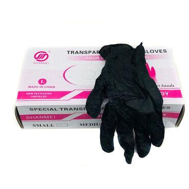 Нитриловые черные перчатки без пудры - перчатки сочетающие в себе все