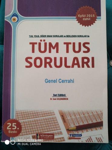 Bakı şəhərində TUS kitablari