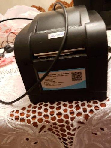 штрих сканер в Кыргызстан: Принтера для печатания чеков и принтер печатающий штрих код. также