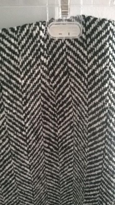 Crno bela zimska suknja - Kragujevac
