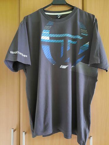 Pamucne majice - Srbija: Sergio Tacchini muska majica 2XL  Premijum kvalitet, urbani print i ud