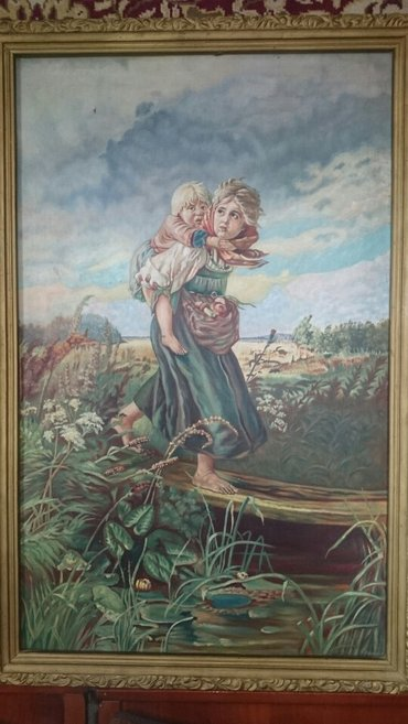 Картины холст, масло возраст более 50ти лет, схожесть с оригиналом 98% в Чолпон-Ата