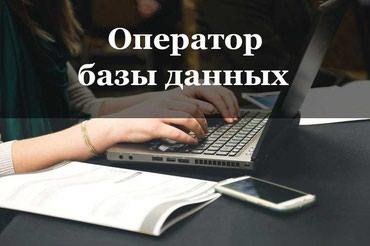 Оператор базы данных в Бишкек