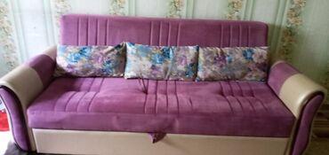 Срочно продаю раскладной диван ткань турецкая,состояние более чем