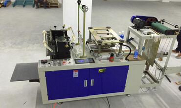 оборудование для производства перчаток в Кыргызстан: Станок по производству полиэтиленовых перчаток DG 500*.Станок