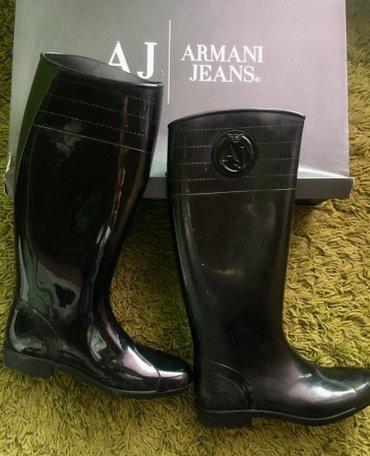 Armani gumene cizme, original, nosene samo jednom, broj 39 - Beograd