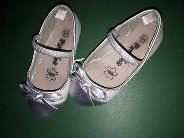 Cipelice za devojcice, obuvene par puta, br.24, manji kalup - Sabac