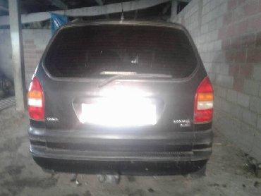 тюнинг опель зафира турер в Кыргызстан: Opel Zafira 2001