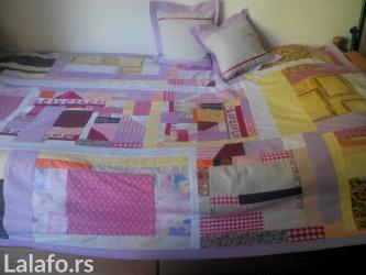 Prekrivac, pokrivac,jorg.navlaka +2jastucnice+2jastuka  in Belgrade