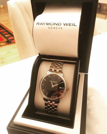 Gümüşü Kişi Qol saatları Raymond Weil