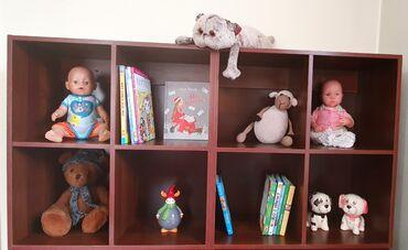 Шкаф стеллаж для игрушек, книг, фотографий